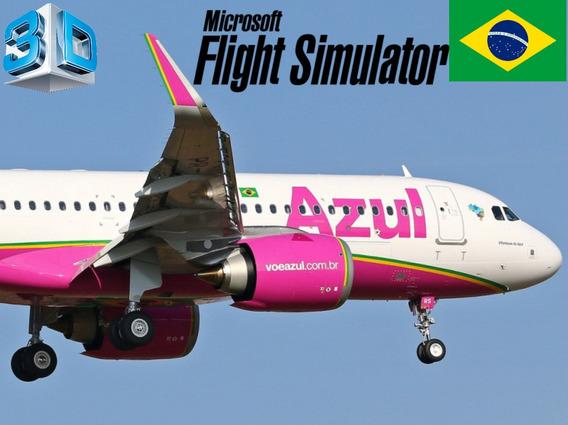Simulador De Voo Com Airbus A320 Gps