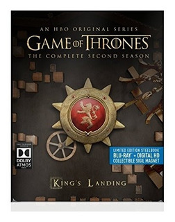 Blu-ray : Game Of Thrones: Second Season - Steelbook
