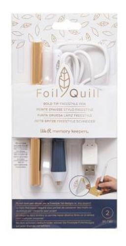 We R - Foil Quill - Caneta Freestyle Ponta Grossa Para Aplic