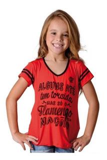 Camisa Flamengo Infantil Nation Braziline