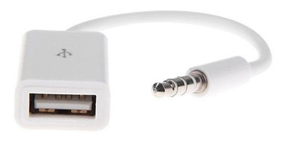 Mini Plug 3,5mm A Usb Hembra - Stereos Aux