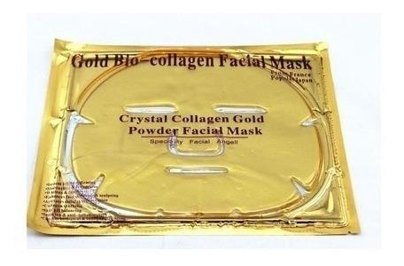 Mascara De Ouro Facial Anti Envelhecimento Colágeno 3 Unid