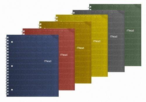 Mead Reciclado 1-subject Cuaderno, Con Renglones, 27.9x 2