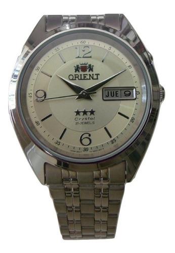 Relógio Orient Automático Aço Masculino Fem0401uc9 Promoção