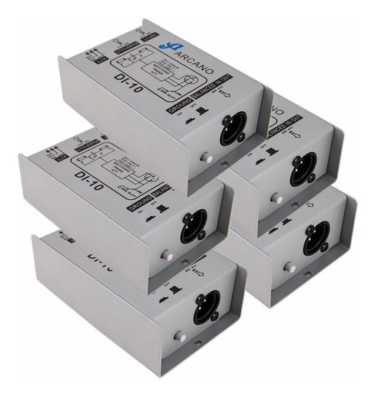 Kit 05 Direct Box Passivos Di-10 Arcano Custo X Benefício