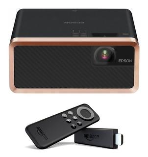Proyector Laser Epson Hdmi Ef-100b Negro + Amazon Stick Tv