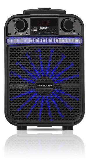 Caixa Multiuso Portátil Bluetooth/microsd/usb/fm 80w Go!powe