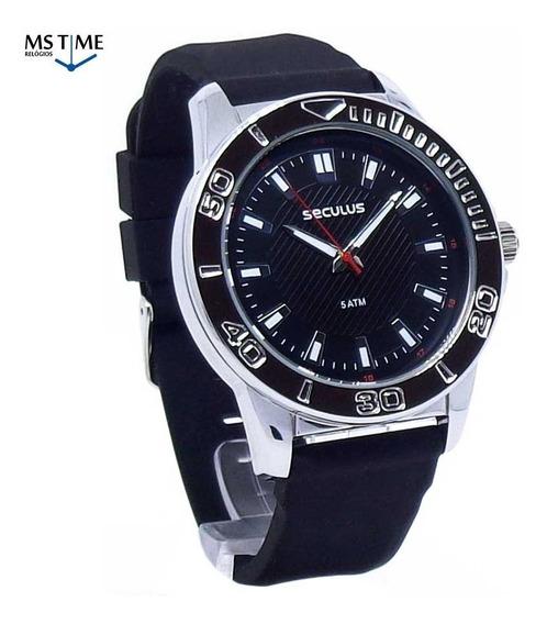 Relógio Seculus Masculino Analógico 23611g0svni1