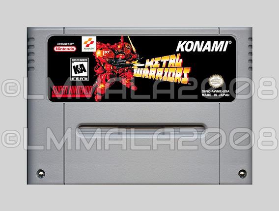 Metal Warriors Portugues Original Snes Super Nintendo