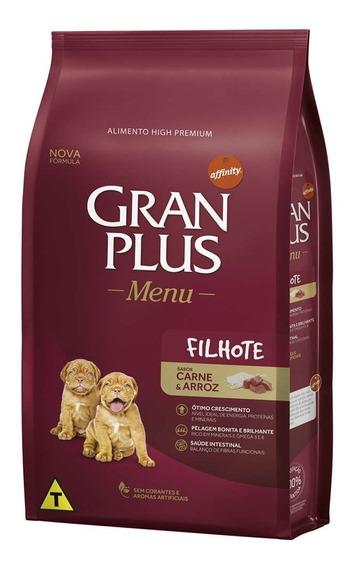 Ração Gran Plus Filhote Carne E Arroz 15kg + Brinde Promoção