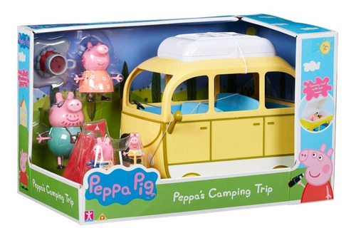 Peppa Pig Caravan Camper Van Grande Casa Rodante Original
