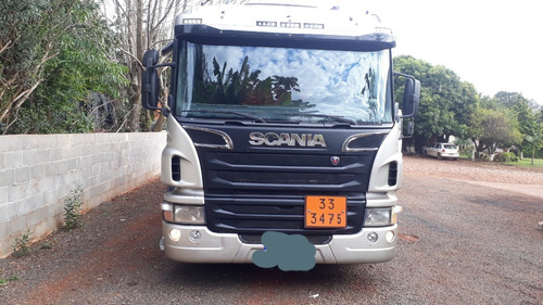 Scania P 250 6x2  Tanque Combustivel