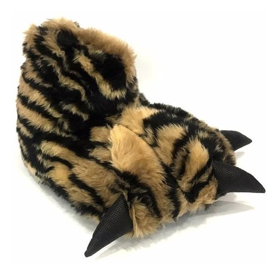 Pantufla De Adultos Tipo Garra Cerrada Nuevas(pata Animal)