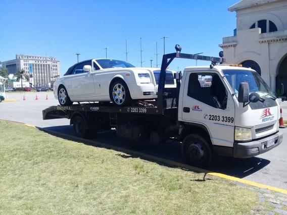 Transporte De Maquinarias Y Vehiculos-traslados Al Interior