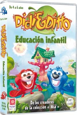 Educativo: Didi & Ditto. Educación Infantil (envío Digital)