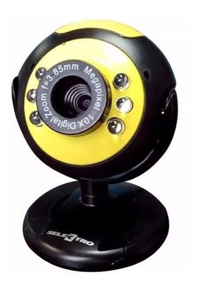 Camara Webcam Video Selektro Usb 2.0 Laptop Pc Microfono Ccc