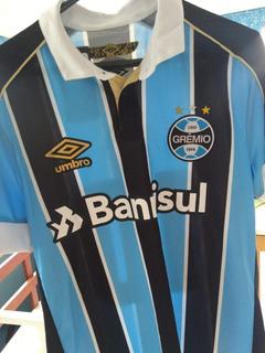 Camisa Grêmio Oficial I Masc. Classic 2019 Com Número