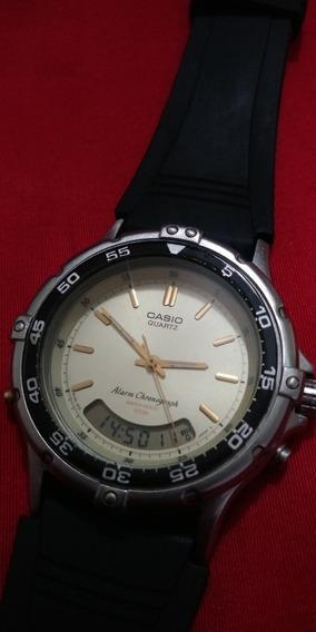 Relógio Casio Ad 510 Made In Japan Funciona Bem Muito Bonito