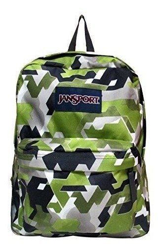 Mochila Jansport Superbreak Multi Watercolor Angles 25l
