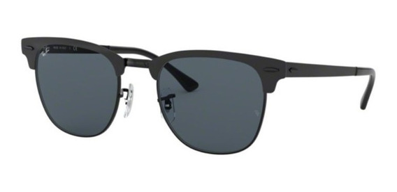 Oculos Sol Ray Ban Rb3716 186/r5 51mm Preto Fosco Lent Cinza