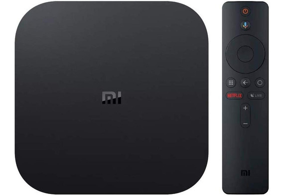 Xiaomi Mi Box S Global Wifi/hdmi/usb Ultra Hd 4k Bivolt
