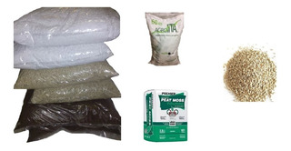 Perlita Vermiculita Y Peatmoss Germinacion Semillas