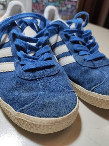 femenino Porra exposición  Zapatillas adidas Gazelle Niño Casi Nuevas | Mercado Libre