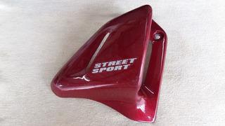 Honda Cbx 200, Aba Do Tanque Direita, Vermelha, Paramotos