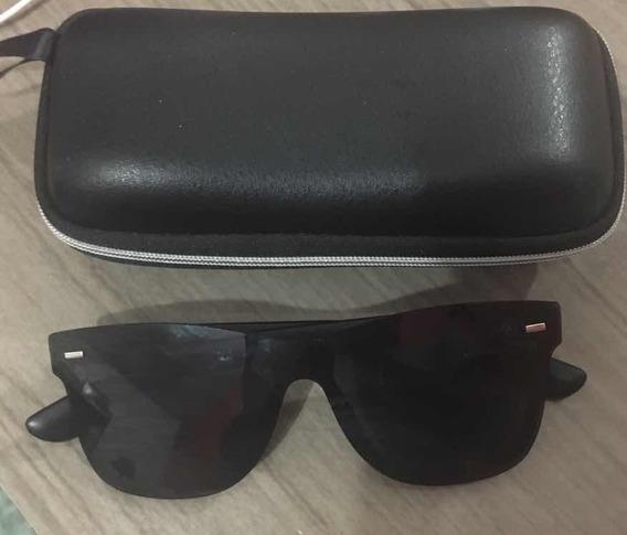 Óculos De Sol Mackage Unissex Amk18140101c40 Preto Nf