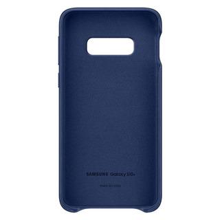 Capa Protetora Samsung Galaxy S10e Couro Azul