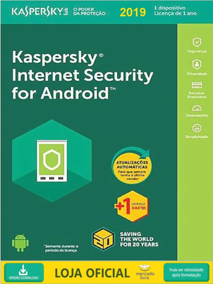 Kaspersky Internet Security Para Android 1 Dispositivo 2019