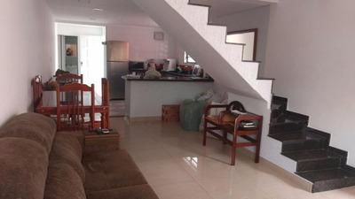 Casa Em Parque Bitaru, São Vicente/sp De 82m² 3 Quartos À Venda Por R$ 456.000,00 - Ca222101