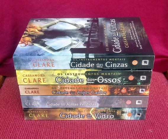 Coleção: Os Instrumentos Mortais - 5 Livros- Cassandra Clare