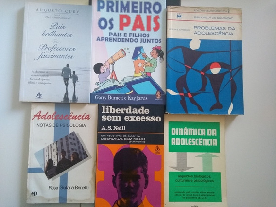 Kit Livros Filhos E Pais, E Adolescência