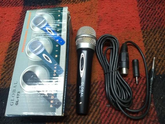 10 Microfones Global Gl-173
