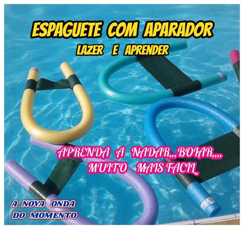 Imagem 1 de 10 de Espaguete Macarrão P/piscina C/aparador Nadar Boiar Kit C/01