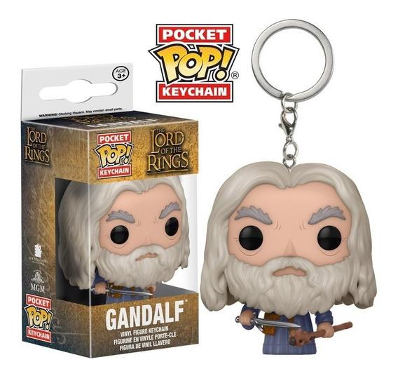 Chaveiro Funko Pop Keychain Senhor Dos Anéis Gandalf (funko,