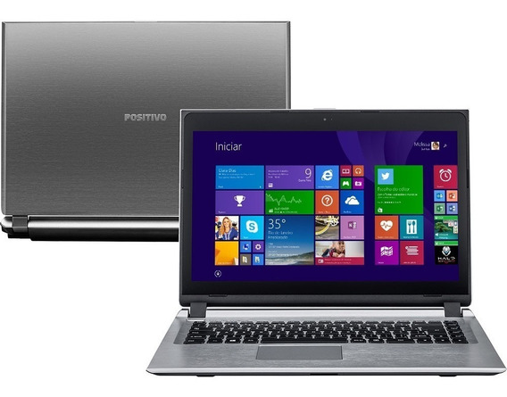Note Positivo S2855 Cel 1007u 4gb 500gb 14 Touch Dvd Hdmi
