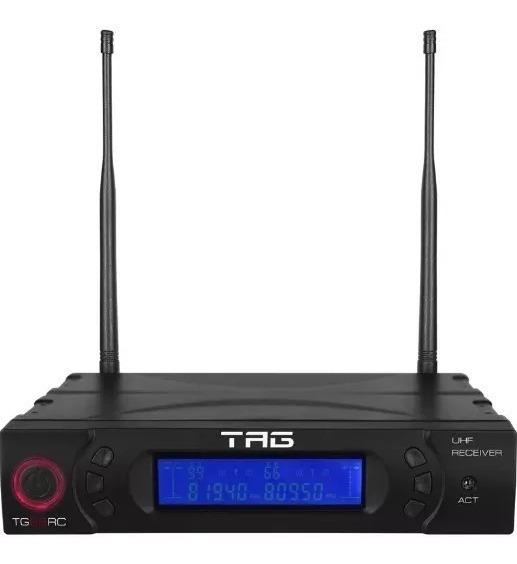 Receptor Digital Para Microfone Tagima Tag Sound Tg-88rc Uhf