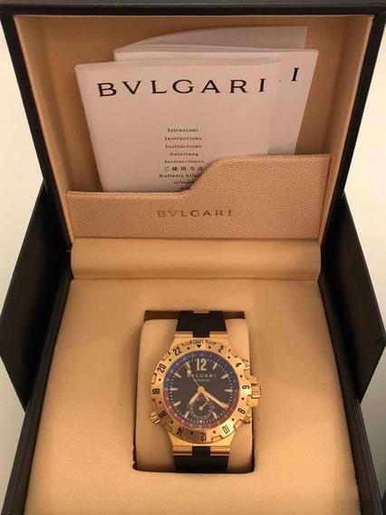 Relógio Bulgari Gmt
