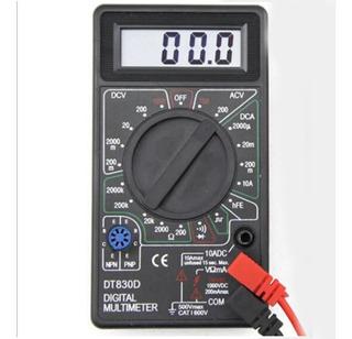 Multimetro Digital Compacto Con Buzzer T830d
