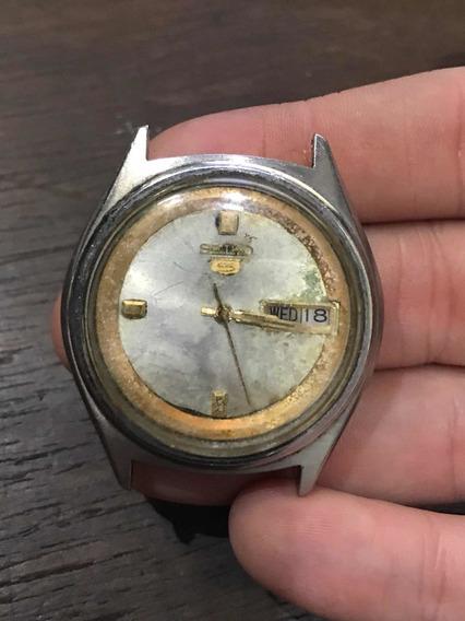 Relógio De Pulso Seiko 5 Automatic Antigo Frete Grátis 647