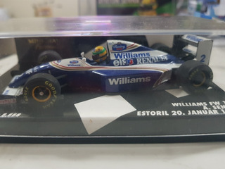Ayrton Senna - Primeira Vez Na Williams - 1994 - 1:43
