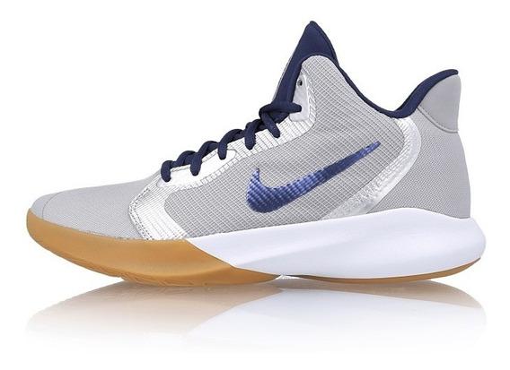 Tenis Nike Precision Iii Gris Aq7495 008