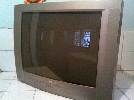 Tv Philips De 29 Pulgadas C/control Le Falta El Yugo 90$