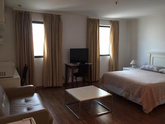 Flat Com 1 Dormitório Para Alugar, 30 M² Por R$ 5.000,00/mês - Moema - São Paulo/sp - Fl0031