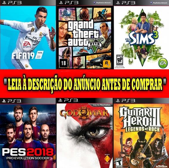 4 Jogos Ps3 - Digitais Originais