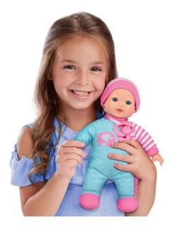 Mi Primer Muñeca Bebé Anita Cuerpo Soft Lalelu