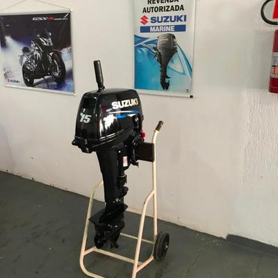 Motor De Popa Suzuki 15hp Dt15as
