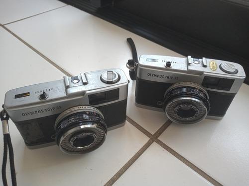Conjunto 3 Câmeras Antigas (olympus 35 Trip) Frete Gratis